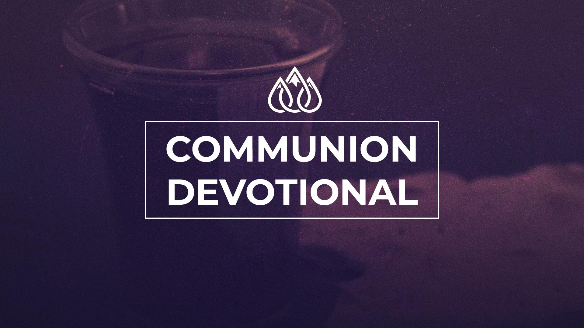 Communion Devotional Image