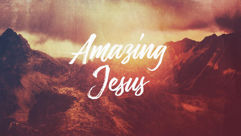Amazing Jesus Image
