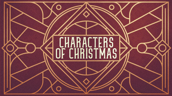 Characters of Christmas - Mary Image