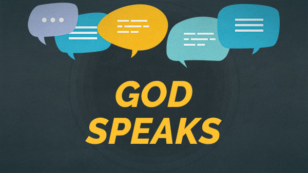 God Speaks: Message 1