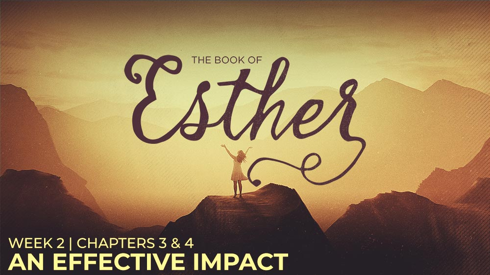 Esther: Week 2